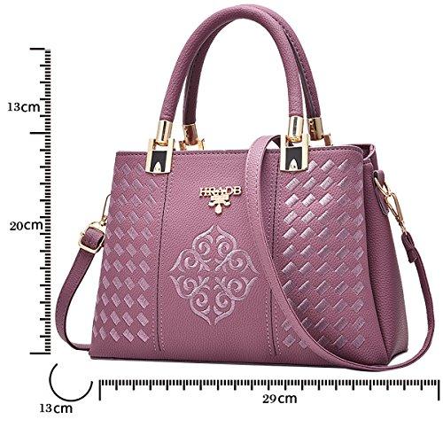 Tisdaini à Sacs Ligne en de de PU Vente bandoulière en des Violet Sacs Sacs Dames à sur Cuir Sac à Designer Femmes Main Main r0z5xvqr