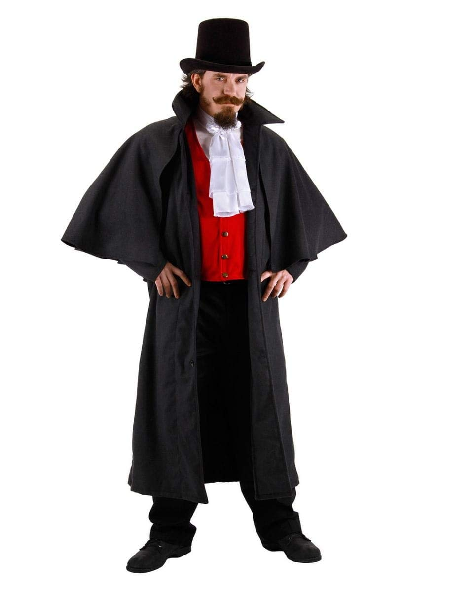 Horror-Shop Edler Kutscher Vampir Gothic Gothic Gothic Kostüm-Mantel für Halloween, WGT & Karneval 6daee9