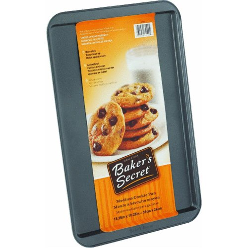 Bakers Secret 10-1/4 x 15-1/4 Non Stick Cookie Sheet