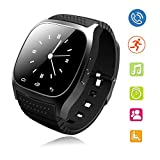 Wearable Smartwatch Bluetooth Smart Watch Touch Screen Wristwatch with Dial Call Answer Music Player for Men Women Android Samsung Note 5 S7 Edge S6 S5 HTC LG Motorola Alcatel ASUS ZTE Smartphones