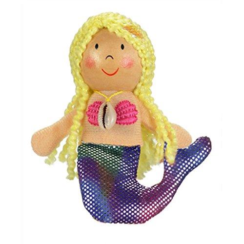 Fiesta Gold Range Finger Puppet Mermaid Fiesta Crafts G-1013