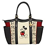 Disney Mickey Mouse And Minnie Mouse Love Story Shoulder Tote Bag by The Bradford Exchange
