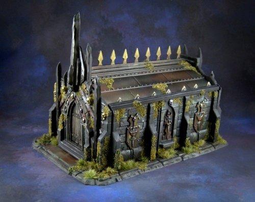 Reaper Miniatures Bones Obsidian Crypt #77637 Unpainted Plastic Building Scenery ()