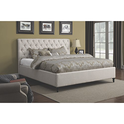 King Size Upholstered Bed - 3