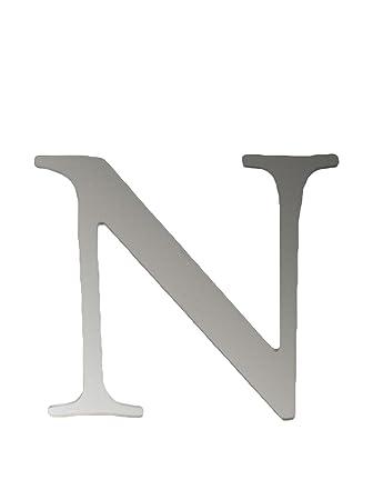 SuperStudio LO+DEMODA N Letra Adhesiva de Espejo N, PVC, 0.2 ...
