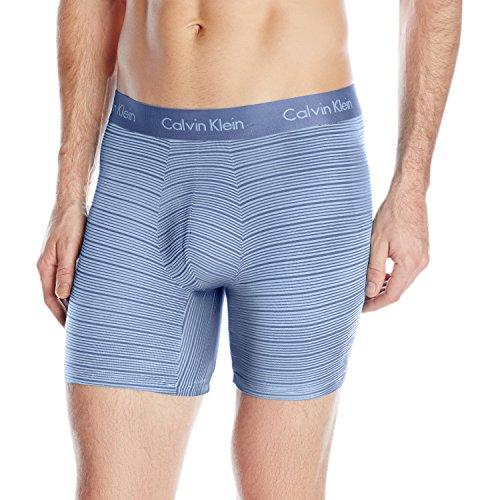 Body Boxer Brief (Calvin Klein Men's, Underwear Boxer Briefs, Body Modal, Casper Blue/Star Ferry Stripe,)