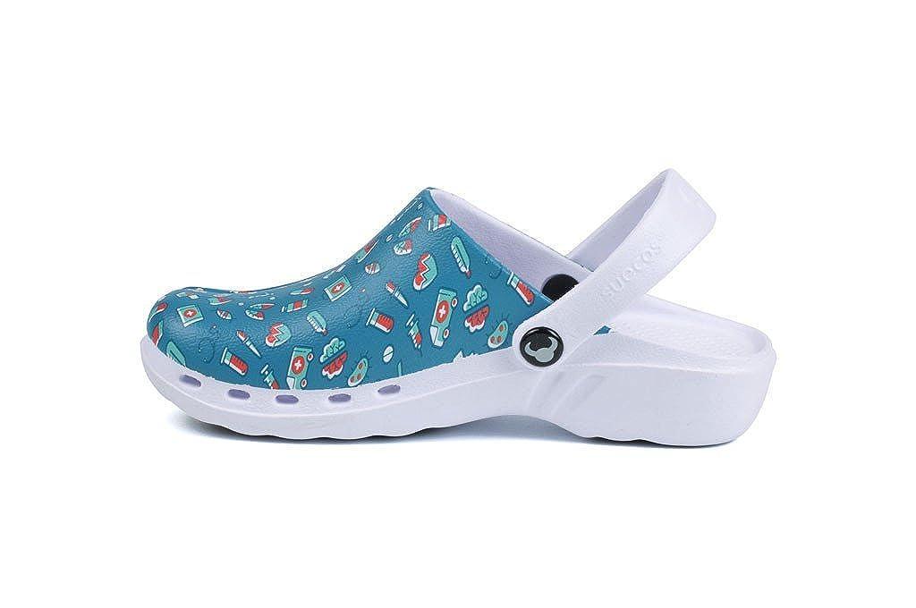 Suecos® Oden Medical, Zuecos de Trabajo Para Mujer: Amazon.es: Zapatos y complementos