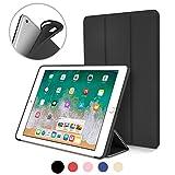 iPad Pro 10.5 Case , DTTO Smart Cover Case with Ultra Slim Anti-Scratch Non-Slip Flexible Soft TPU Back Cover for 2017 iPad Pro 10.5 inch [Auto Sleep/Wake],Black