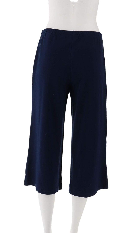 Susan Graver Stretch Modal Comfort Waist Gaucho Pants A278905 At