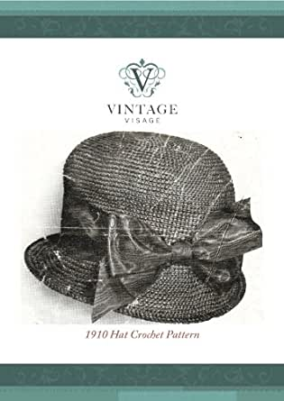 How to make a Downton Abbey style 1910 hat- crochet pattern - Kindle