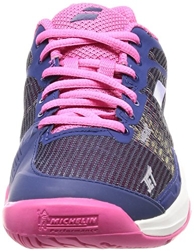 Babolat Mach All Tennis Jet Court I Shoes Women's Blue zqxrpZz