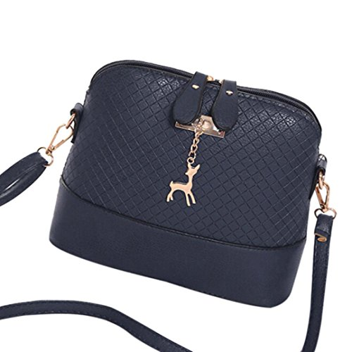 IEason Women Shoulder Bag, Women Messenger Bags Fashion Mini Bag Deer Toy Shell Shape Bag Shoulder Bags (Double Shoulder Deer)