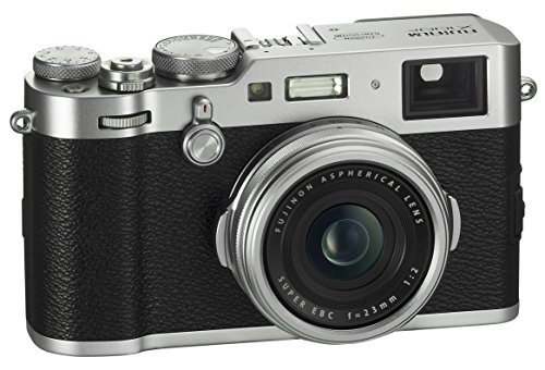 Fujifilm X100F 24.3 MP APS-C Digital Camera - Silver