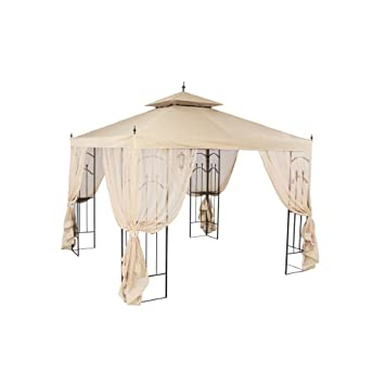 Amazon Hampton Bay 10 Ft X Arrow Gazebo Garden