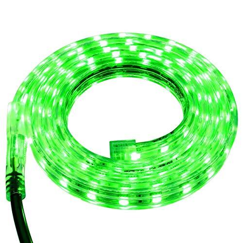Green LED Strip Light - 120 Volt - High Output (SMD 5050) - Custom Cut - 16.4 Feet