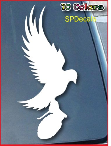 Dove And Grenade Hollywood Undead Car Window Vinyl Decal Sticker 5