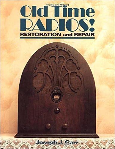 Old Time Radios! Restoration and Repair: Joseph J  Carr