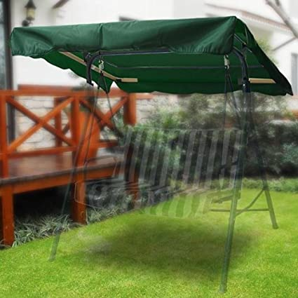 Amazon Com Green Outdoor Patio Swing Canopy Replacement 5 5ft High