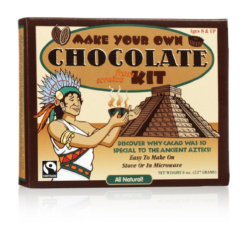 (GLee Gum Organic DIY Chocolate Kit from All Natural Fair Trade Cocoa, 20 Pieces, 1 Pack)
