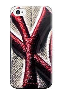 Iphone 4/4s SebFQtc1348CmNip New York Yankees Tpu Silicone Gel Case Cover. Fits Iphone 4/4s
