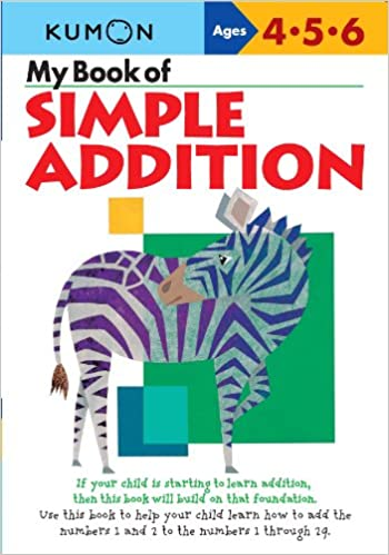 My Book Of Simple Addition Kumon Workbooks Kumon