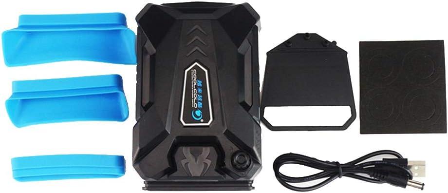 YILONG CoolCold enfrió Aire Exterior más frío USB portátil de Aire de refrigeración del Ventilador del radiador Extraer Notebook Cooling Pad Ventilación