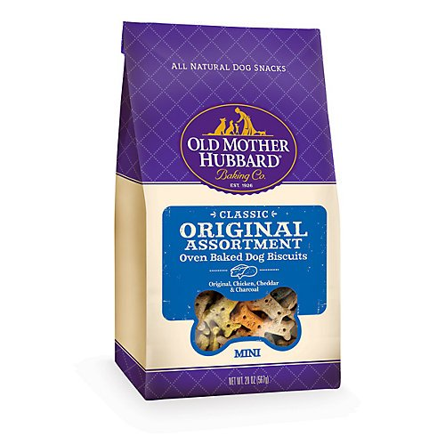 - OMH Old Fashioned Mini Asst Dog Treat 3.5 lb