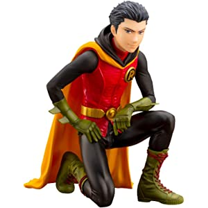 Amazon com: Kotobukiya Robin (Damian Wayne) Dc Comics New 52