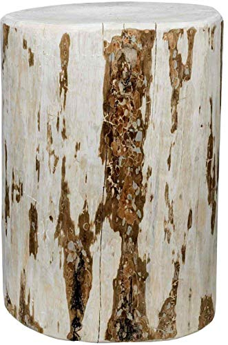 Montana Woodworks MWCBOY25V Montana Collection Cowboy Stump, 25 Inches High Occasional Table, Clear Lacquer Finish