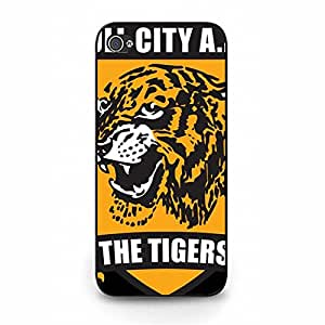 Hull City A.F.C The Tigers Symbol Logo Cool Hard Plastic Phone Case for Iphone 5/5S