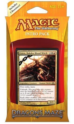 Magic the Gathering (MTG) Dragon's Maze Intro