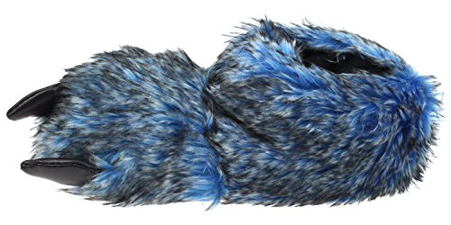 Blue Indoor Faux York New Slippers Boys Combo Fur Capelli Claw qFv8wYn
