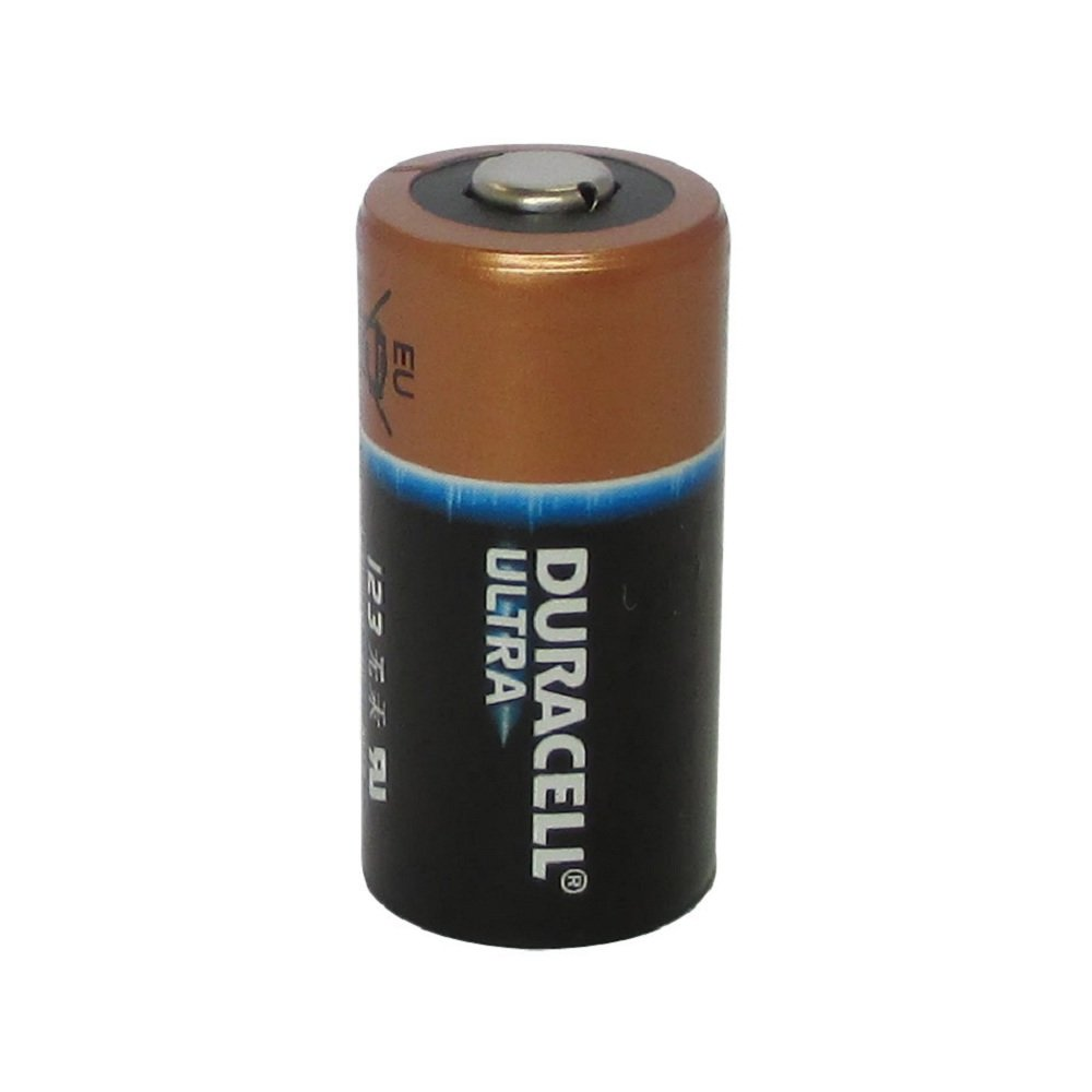 Pack of 100 Duracell Ultra DL123A 3Volt Photo Lithium Battery - Bulk Pack