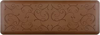 product image for WellnessMats Bella Motif Anti-Fatigue Mat, Brown, 72 Inch by 24 Inch