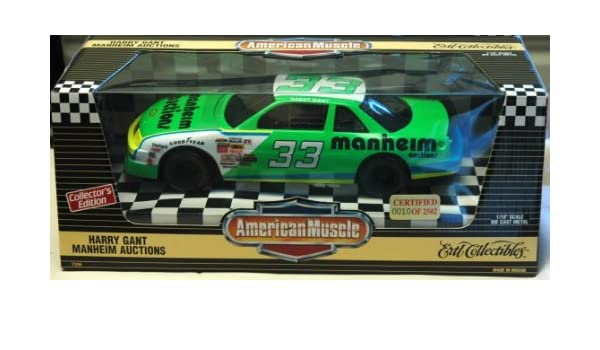 Amazon.com : Ertl Collectibles American Muscle Harry Gant #33 ...