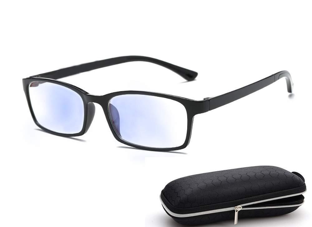 Blue Light Blocking Glasses For Computer Use Women Men Anti Eyestrain Lens Tr90 Frame Eyeglasses Tv Gaming Computer Glasses Anti Eyestrain Lightweight Computer Cellphone Reading Gaming Glasses Black Buy Online In India At Desertcart