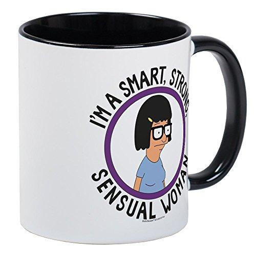 CafePress Bob's Burgers Tina Sensual Woman Mug Unique Coffee Mug, Coffee Cup]()