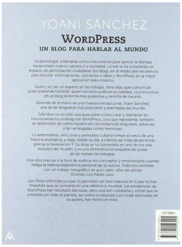 WordPress-un-blog-para-hablar-al-mundo-Spanish-Edition