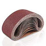 Coceca 3x21 Inches Sanding Belt (75x533mm), 18 Pack
