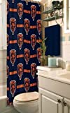 Chicago Bears Fabric Shower Curtain by Northwest