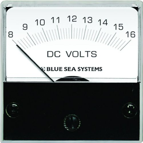 Analog Micro Voltmeter - Blue Sea Systems 8028 DC Analog Micro Voltmeter