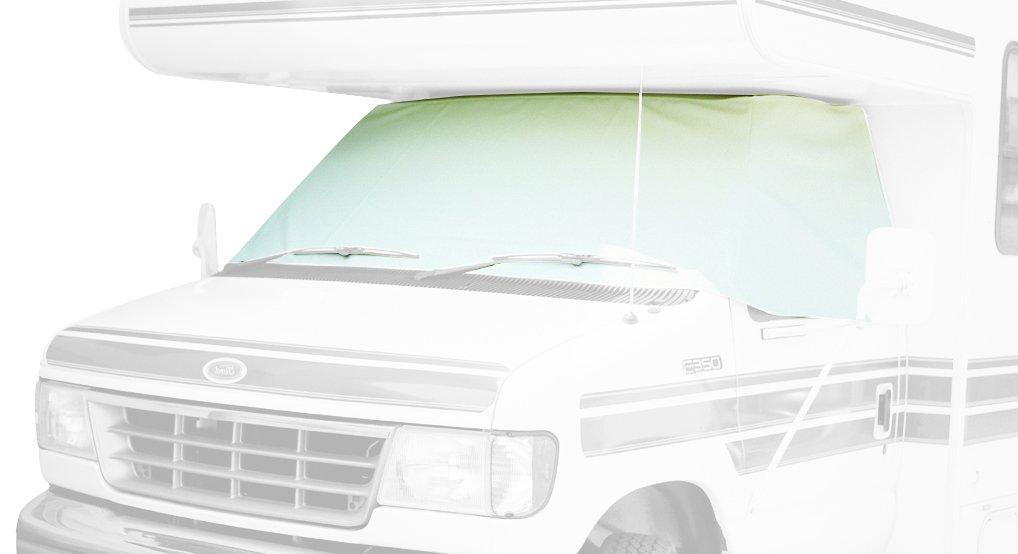 B0002F68J0 ADCO 1972-1996 2403 Class C Chevy RV Motorhome Windshield Cover, White 51vpzjUa6SL