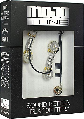 Pre-Wired ES-335 Style Wiring Kit (Best Amp For Es 335)