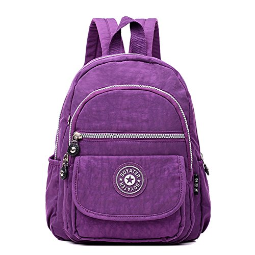 Casual Travel Mini Purple Fashion C Style Daypack Designed Women Girls for Light amp; Backpack rRpzr