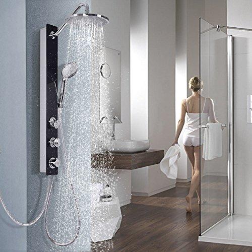 Cheap  Giantex Shower Panel Rainfall Waterfall Shower Head Massage System With Massage Jets..