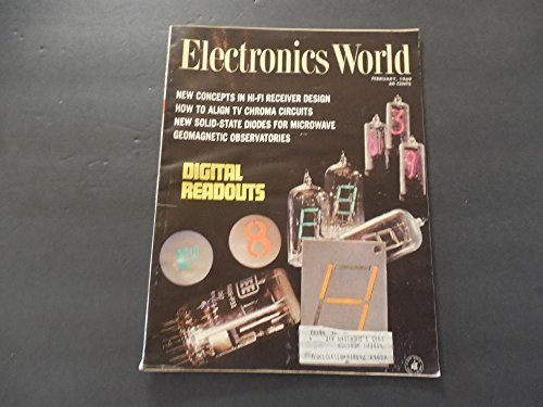Electronics World Feb 1969 Solid State Diodes For Microwave ()