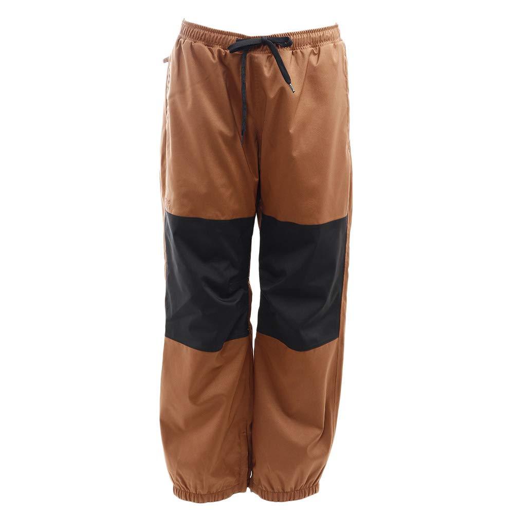 SCAPE(SCAPE) スノーボードウェア パンツ FAZZ FAZZ PANTS 18-19 71118333 褐色/黒 ブラウン×ブラック S