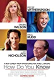 jack witherspoon - HOW DO YOU KNOW Original Movie Poster 27x40 DS - REESE WITHERSPOON - JACK NICHOLSON