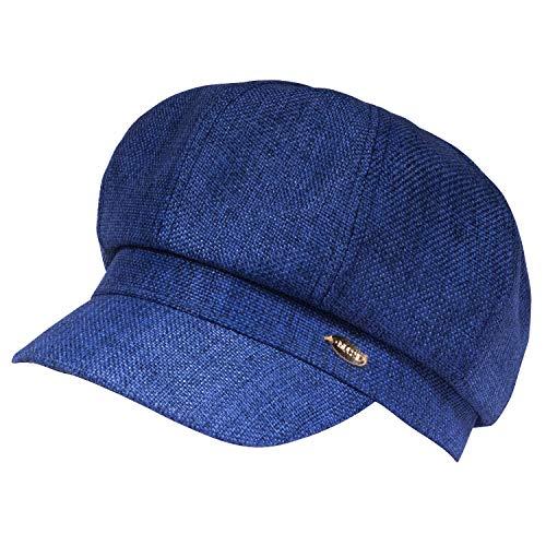 WETOO Newsboy Cap Women Summer Cap Beret Newsboy Style Hat Vintage Bonnet Visor Linen Cotton Newsboy Beret Visor Painter Hats ()