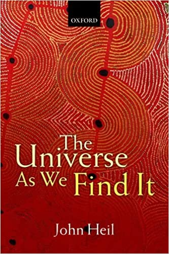 Book The Universe As We Find It by John Heil (9-Apr-2015)